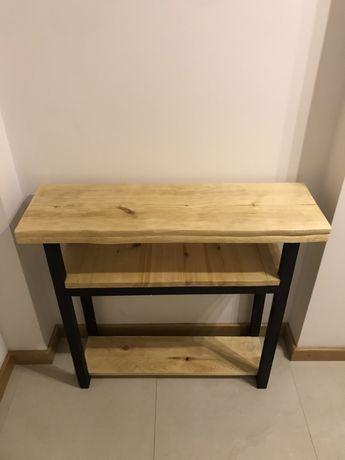 Konsolka drewniana, Handmade