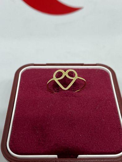 Złoty pierścionek 14k