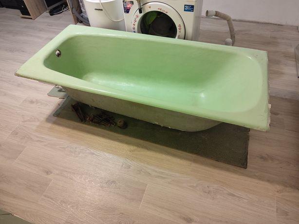 Чугунная ванна б/у