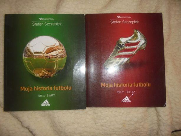 Stefan Szczepłek Moja historia futbolu 2 tomy, cena za komplet