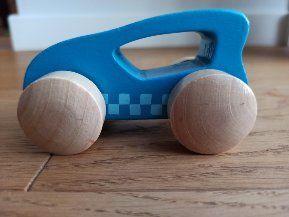 Drewniane autko samochodzik HAPE