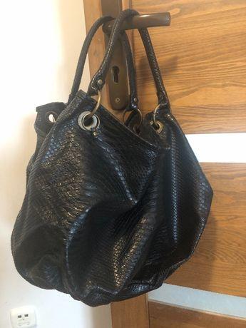 Duża torba czarna