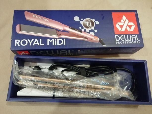 Профессиональный выпрямитель для волос DEWAL Royal (для кератина)