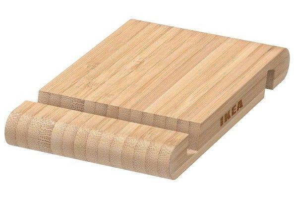 Держатель для телефона IKEA смартфон планшет дерево бамбук подставка