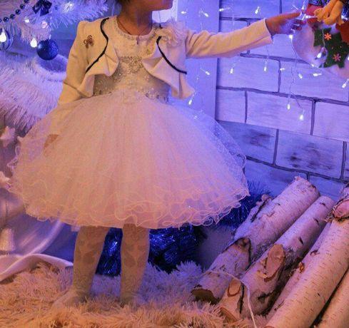 Платье для девочьки 3-4хлет