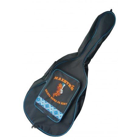 Новый чехол для акустической гитары с орнаментом