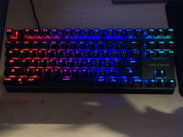 Клавиатура Modecom Volcano RGB Lanparty(outemu blue)