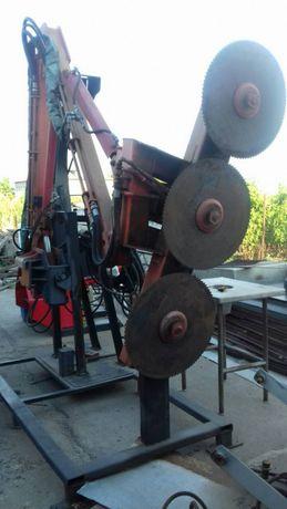 Бизнес манипулятор установка дисковая пила на трактор Т150 обмен