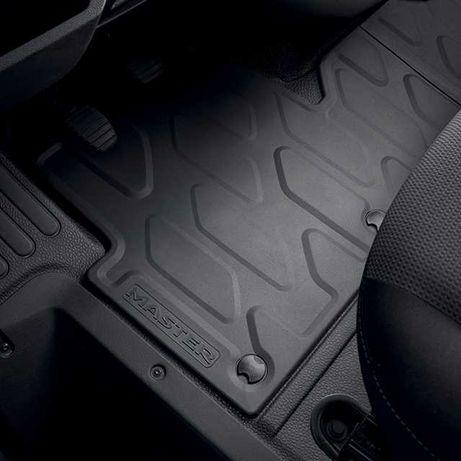 Nowe Dywaniki Gumowe Renault Master III ORYGINAŁ