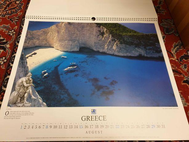 Kalendarz Grecja, zdjęcia, widoki