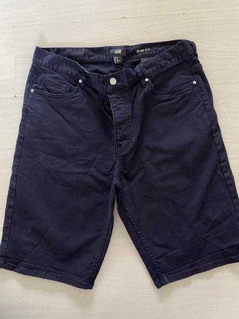 Чоловічі шорти з тоненького джинсу