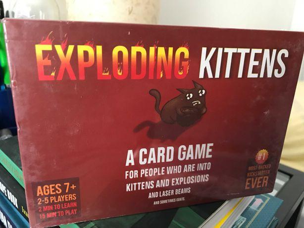 Exploding Kittens novo!