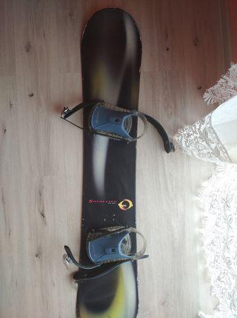 Deska snowboardowa+buty