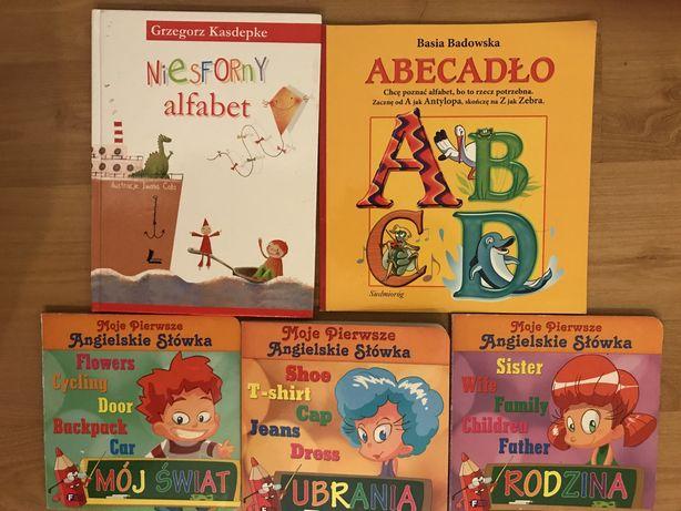Książki dla dzieci angielski i alfabet