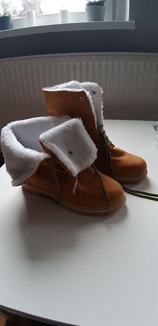 Trapery, buty zimowe, ocieplane