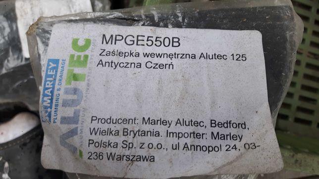 zaślepka zewnętrzna rynny marley alutec