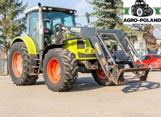 Трактор CLAAS ARES 657 ATZ - погрузчик - двигатель JOHN DEERE 135л/с
