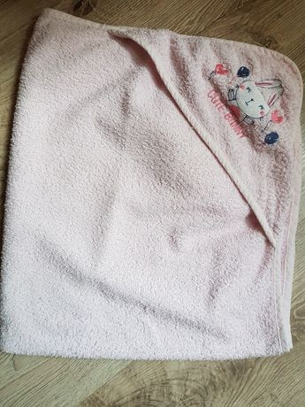 Ręcznik niemowlęcy z kapturem