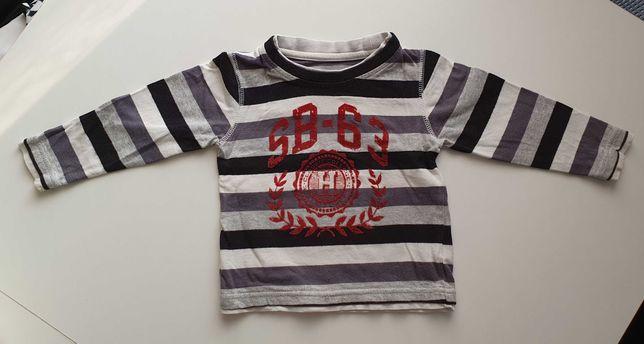 Bluzka, bluza z długim rękawem roz. 86/92