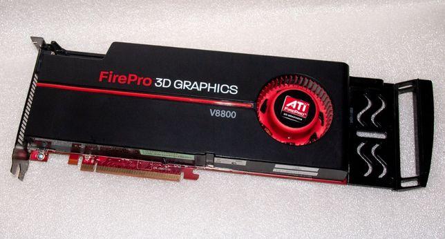 ATI FirePro V8800 2Gb GDDR5 256-Bit профессиональная видеокарта PCIe