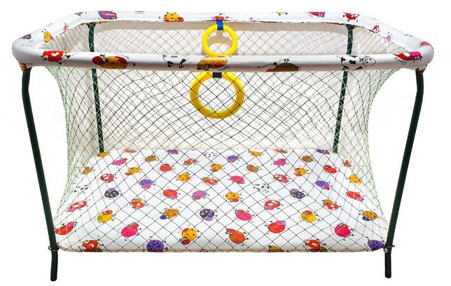 Манеж детский игровой KinderBox ПолуЛюкс