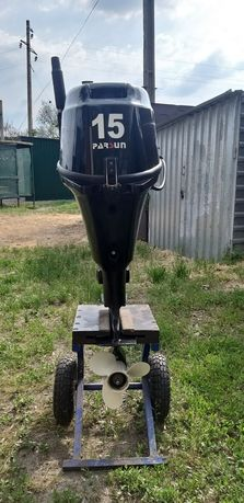 Продам свой 4-х тактный лодочный мотор Парсун 15