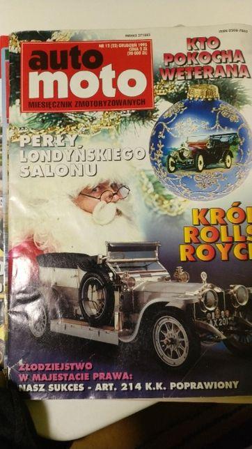 Auto Moto miesięcznik zmotoryzowanych 1995/12