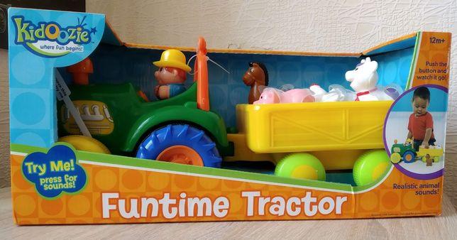 Музыкальный трактор, сортер, голоса животных
