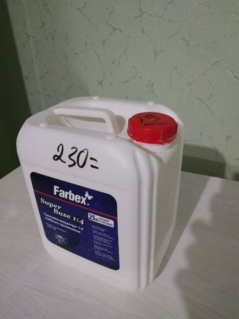 Грунтовка для стен Farbex 1,2л концентрат 1:4 глубокопроникающий