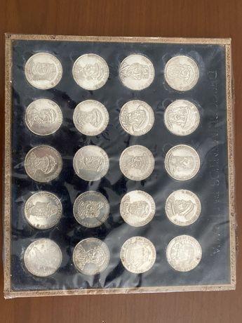 Medalhas dos descobrimentos em Prata