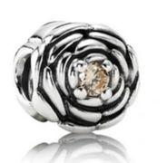 Pandora - charms ze złota cyrkonią.