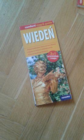 NOWA Wiedeń Austria Mapa Przewodnik 2w1