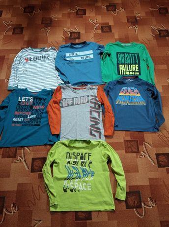Bluzki 5-10-15 rozm 146 jak nowe,bluzka długi rękaw,bluzeczka,koszulka