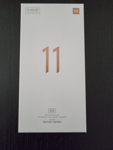 Xiaomi Mi 11 5G novo, 8/256gb, factura,  garantia