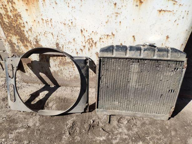 Радиатор охлаждения, крыльчатка вентилятор диффузор mercedes w 116