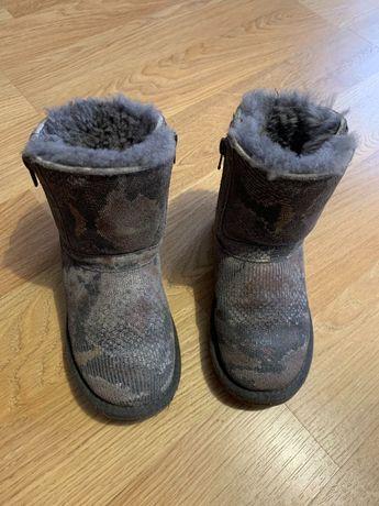 UGG детские сапоги зимние уги натур мех
