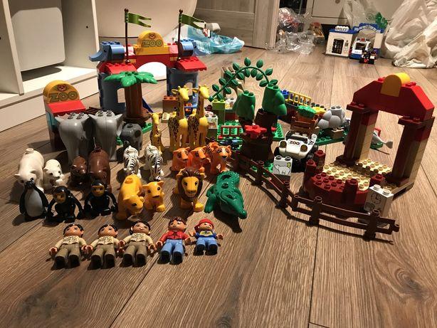 Lego duplo zoo mega zestaw plus bonusowe zwierzaki i inne
