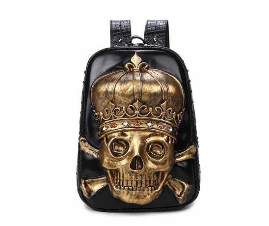 Стильный рюкзак с черепом , из США ( 3750 грн )