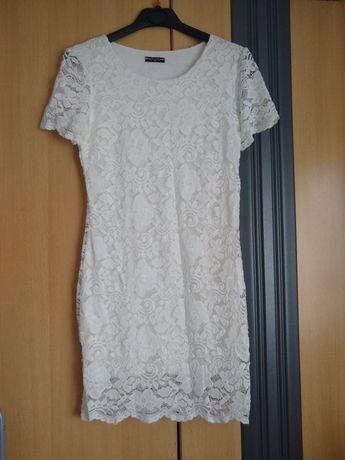 Sprzedam biała sukienkę