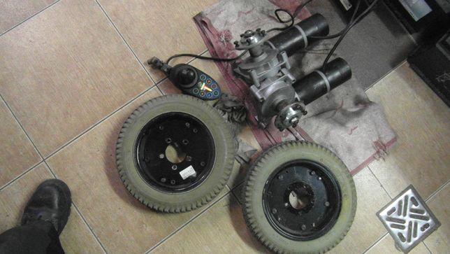 Zestaw napędowy 24V, sterowanie, silnki, przekładnia, motoreduktor