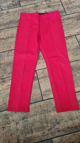 Czerwone legginsy Zara