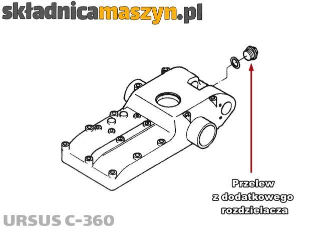 Rozdzielacz hydrauliczny do rozbudowy hydrauliki URSUS C-360 TUR itp.