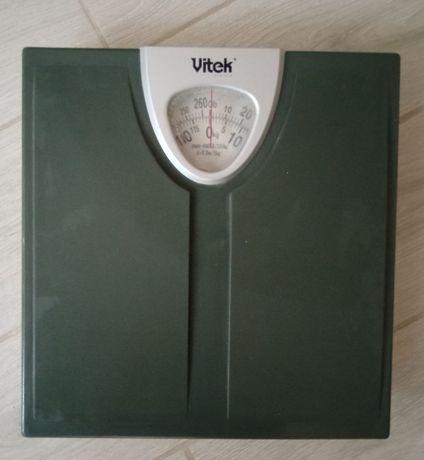 Весы напольные механические vitek бу