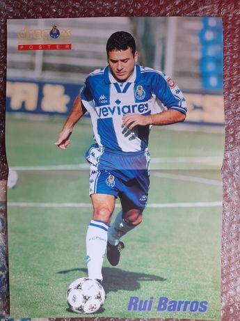 Poster Rui Barros Futebol Clube do Porto