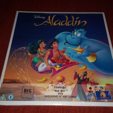 Aladyn blu-ray dvd fajne wydanie pl Disney