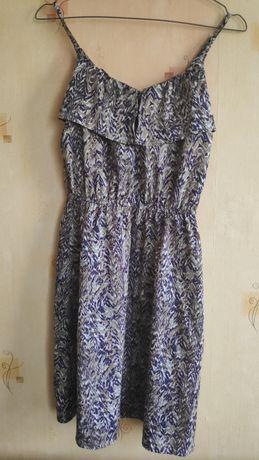 Sukienka ciazowa H&M z falbanką
