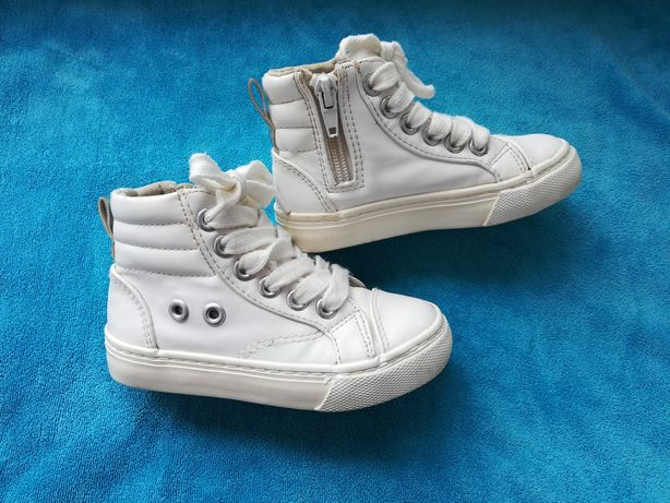 Хайтопы, высокие белые кроссовки кеды