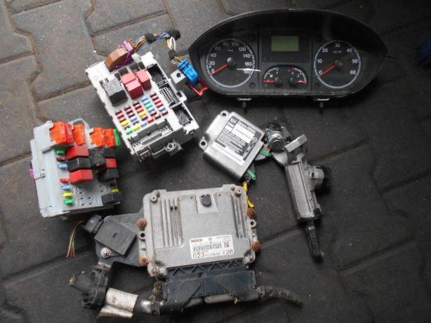 Fiat ducato 2.3 komputer zestaw Części 2008rok