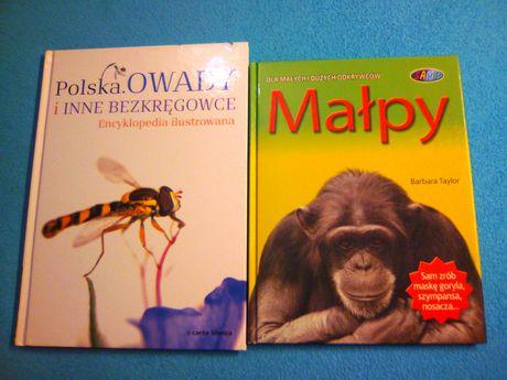 Dla małych i dużych odkrywców Małpy i Polska Owady i inne bezkręgowce