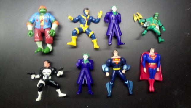 brinquedo super-heróis marvel comics batman joker super-homem boneco
